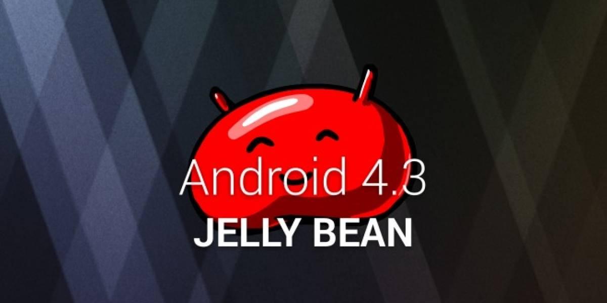 Links de descarga de imágenes de Android 4.3 para equipos Nexus