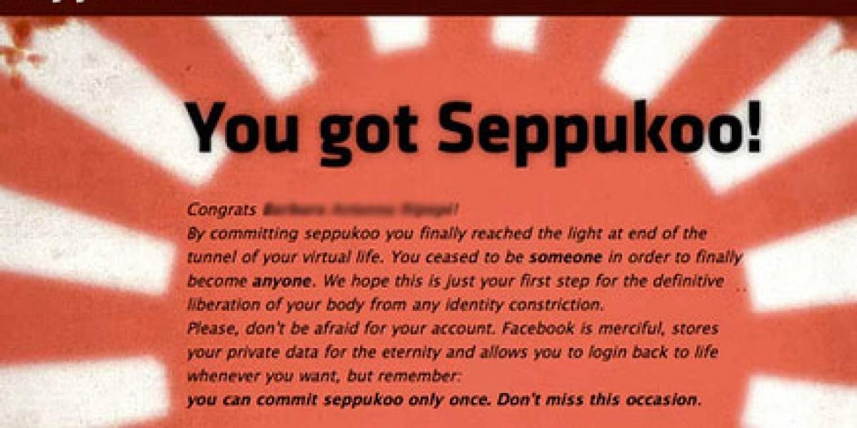 Facebook quiere demandar a Seppukoo