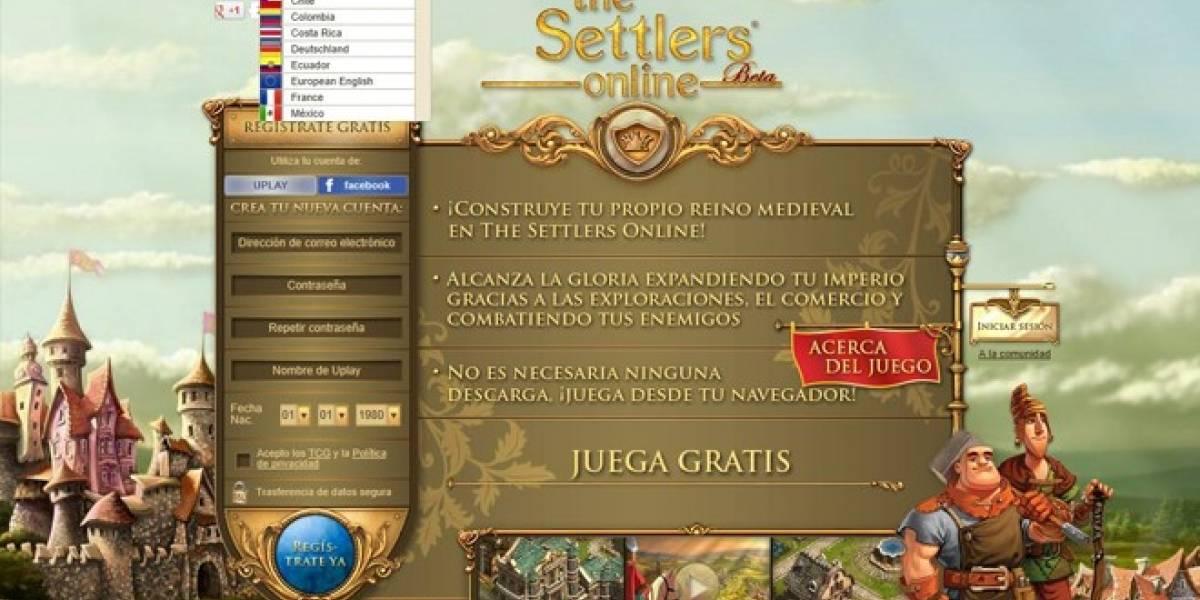 Disponible ya la versión Beta en castellano de Settlers Online