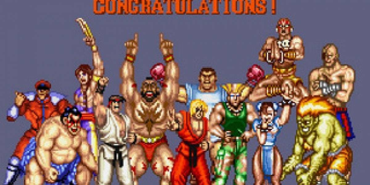 Felices veinticinco, Street Fighter