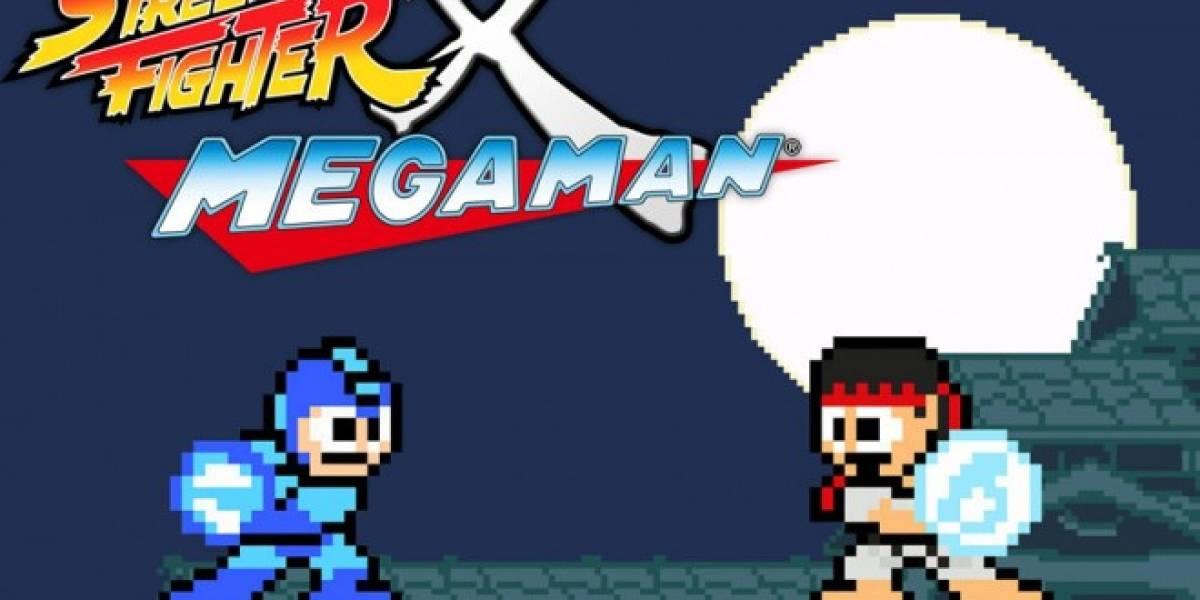 Ya está disponible Street Fighter X Mega Man