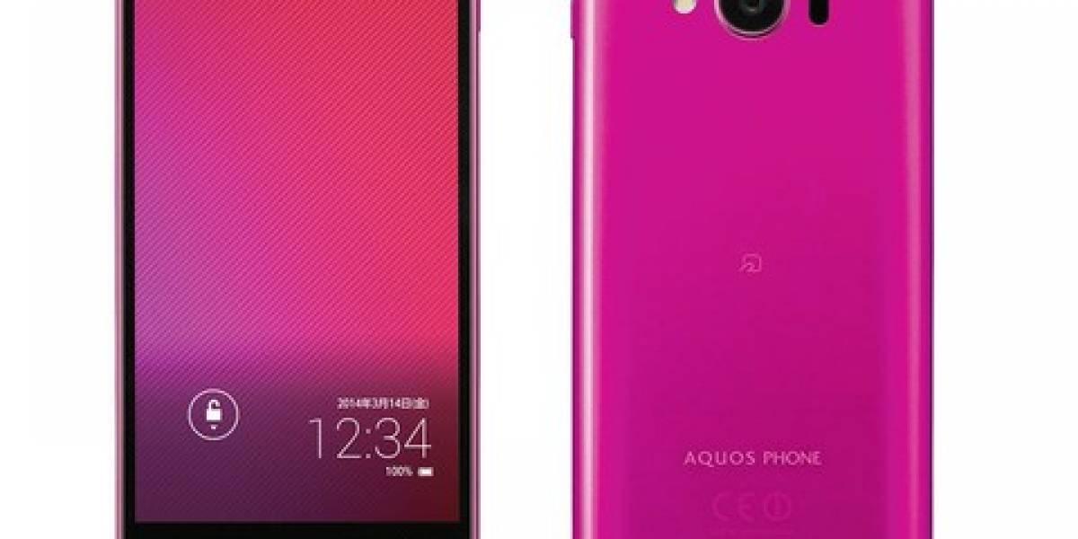Sharp presenta su nuevo smartphone, el Aquos mini SHL24
