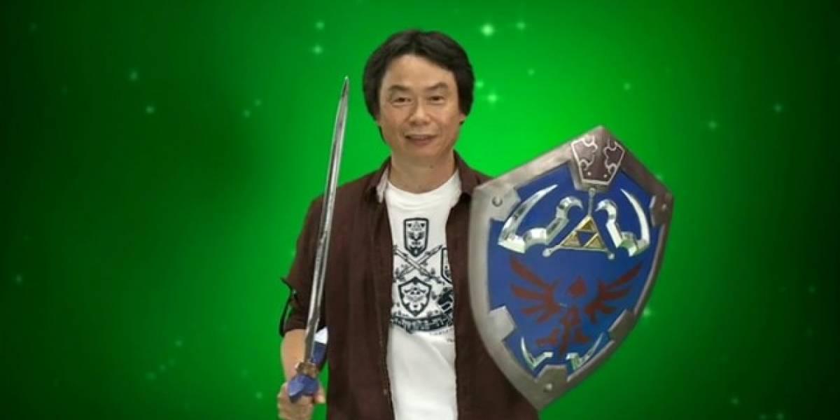La industria se ha vuelto dependiente a los juegos con armas, dice Miyamoto