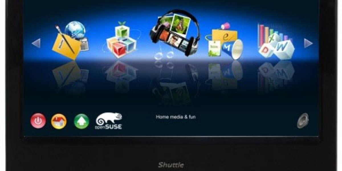 Shuttle X500V: Una PC todo-en-uno touchscreen con Linux