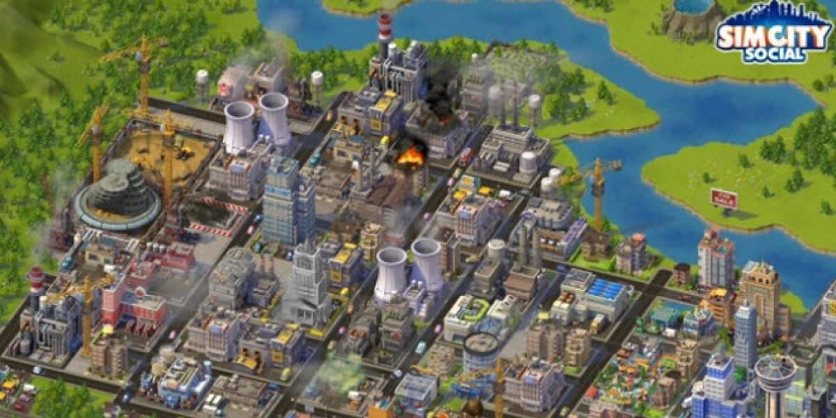 E3 2012: Así se ve SimCity Social en su trailer de presentación