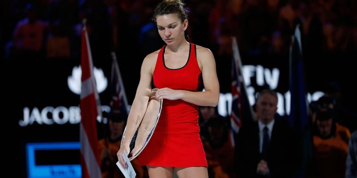 Simona Halep llegó a la Final de Australia y no tiene patrocinador