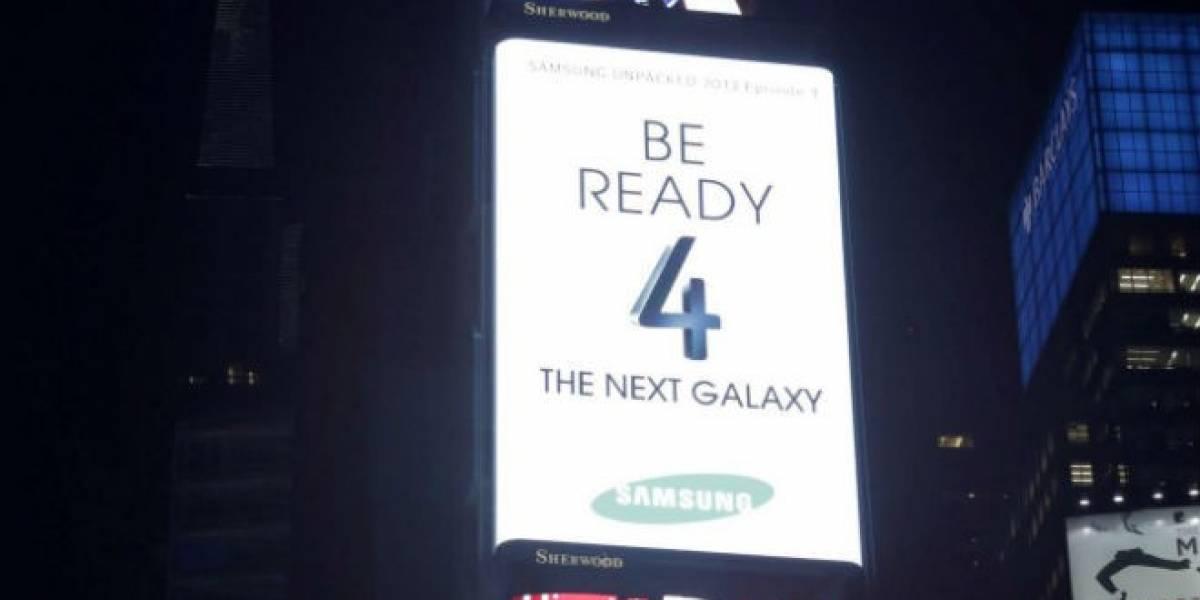 Samsung Galaxy S4 a la venta en Chile desde el 29 de Abril