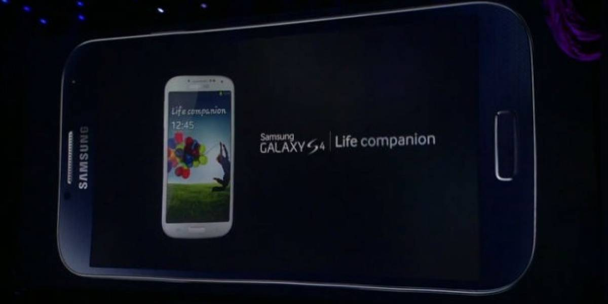 Samsung Galaxy S4 presenta Adapt Display