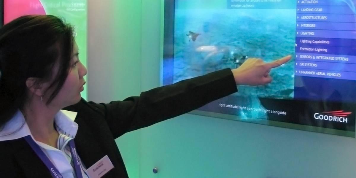 Membrana Displax convierte cualquier superficie en una pantalla táctil