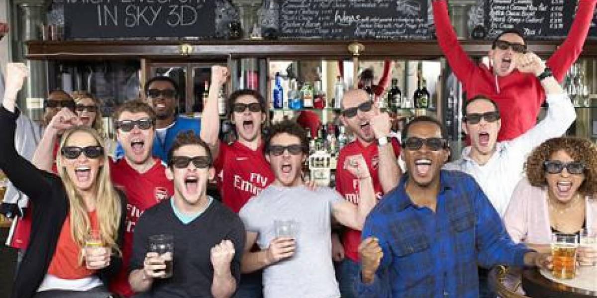 El partido entre Arsenal y Manchester United se verá en 3D en los pubs de Londres