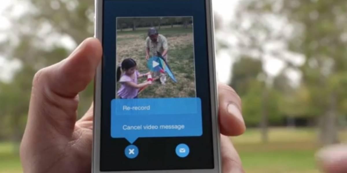 Skype lanza función gratuita para enviar mensajes en video