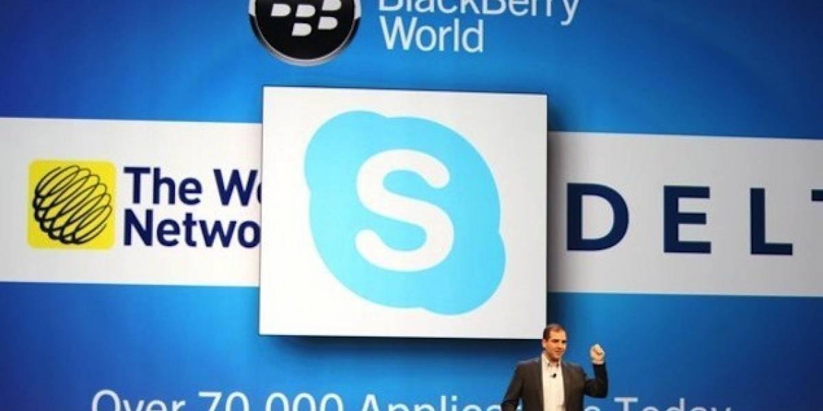 Skype en BlackBerry 10 será una app portada de Android