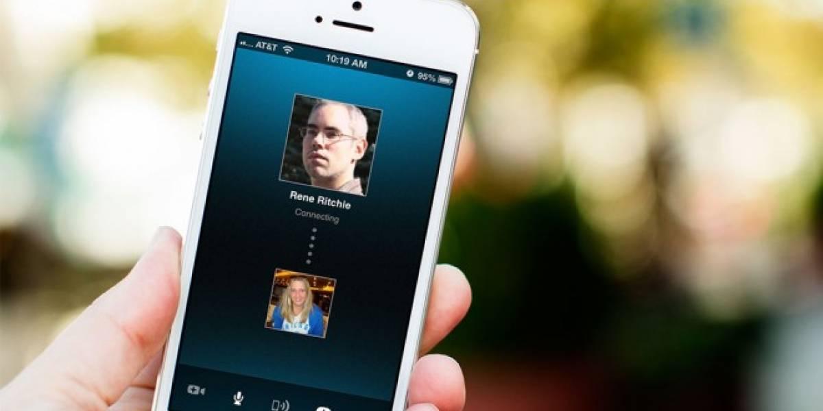 Skype ya permite videoconferencias HD en el iPhone 5s