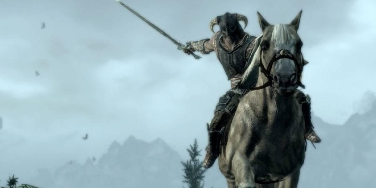 Nueva actualización para Skyrim agrega combate sobre caballos