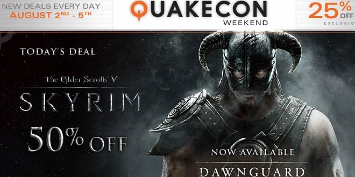 Steam conmemora la QuakeCon 2012 con grandes descuentos