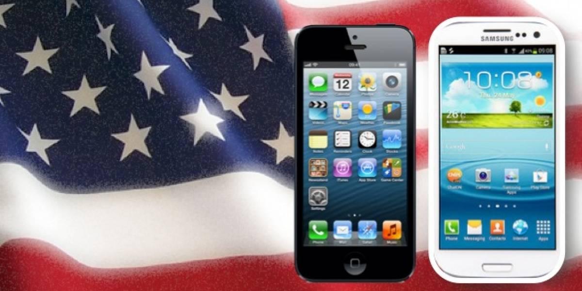 Apple supera a Samsung en venta de móviles en EEUU