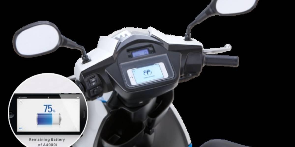 Lanzan en Asia motoneta eléctrica con dock para que un iPhone sea su panel de instrumentos