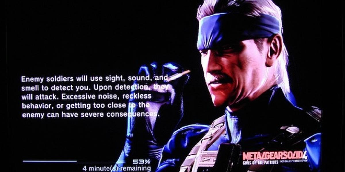 El nuevo Metal Gear Solid 4 incluirá la opción de instalación completa