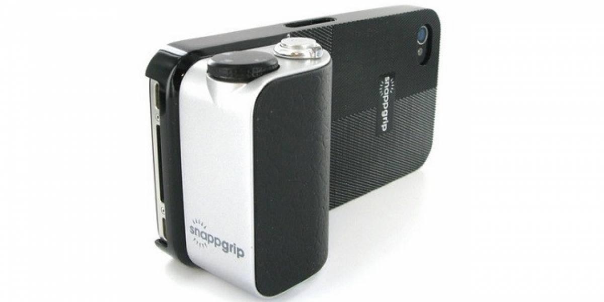 CES 2013: Snapgrip, un accesorio ideal para el fotógrafo móvil
