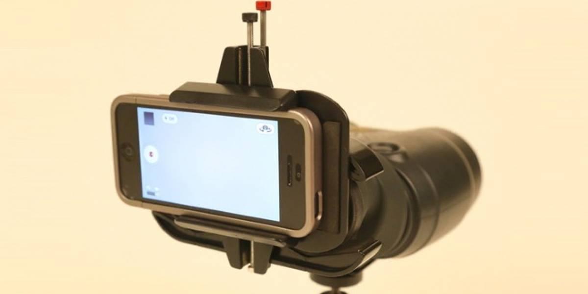 Snapzoom: Un adaptador para adjuntar todo tipo de lentes a cualquier teléfono