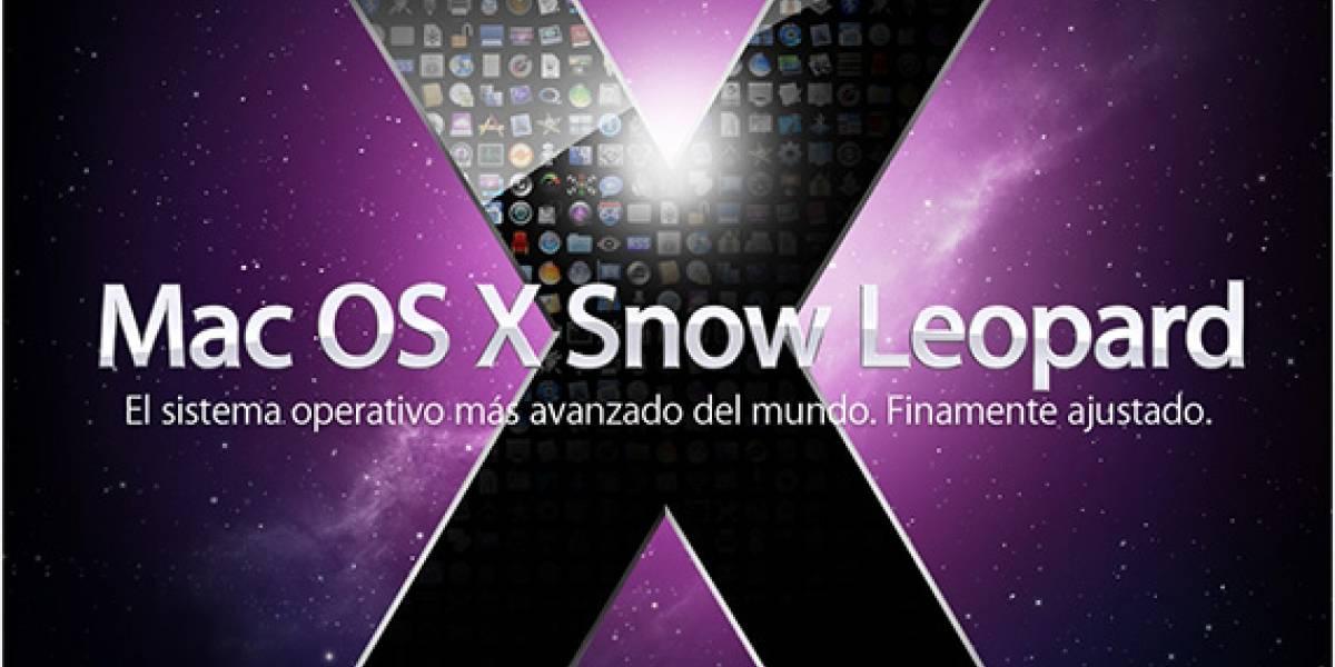 Mac OS X 10.6 Snow Leopard para Septiembre [WWDC09]