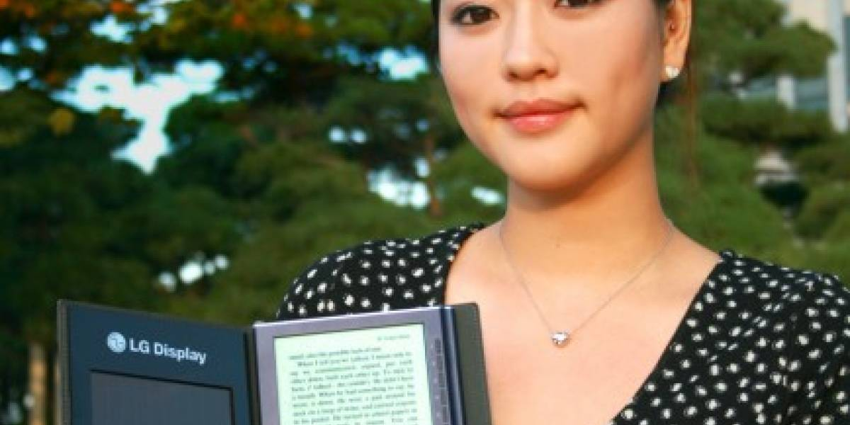 LG presenta eBook Reader solar