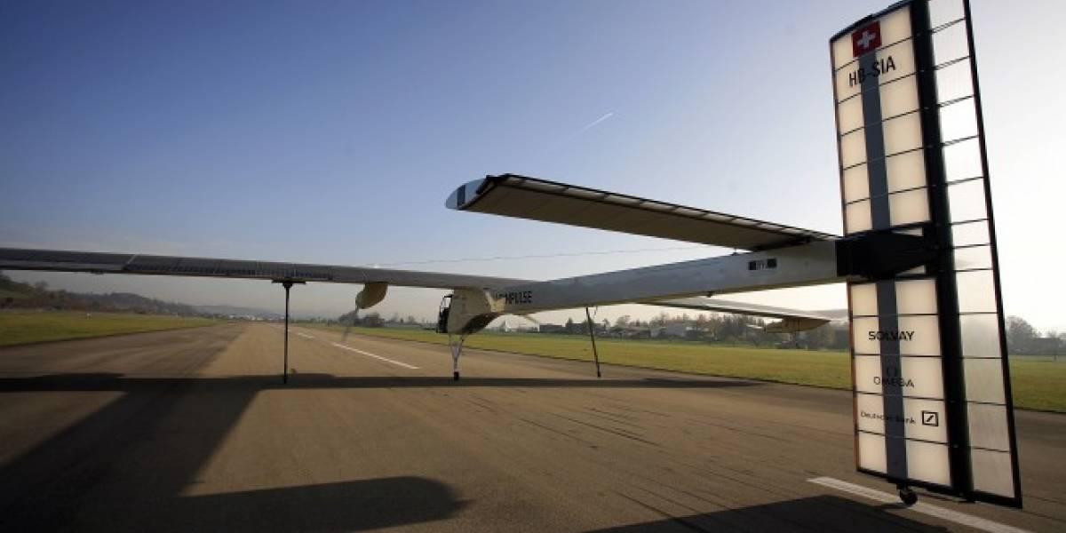 Video: Avión solar realiza sus primeros tests al aire libre
