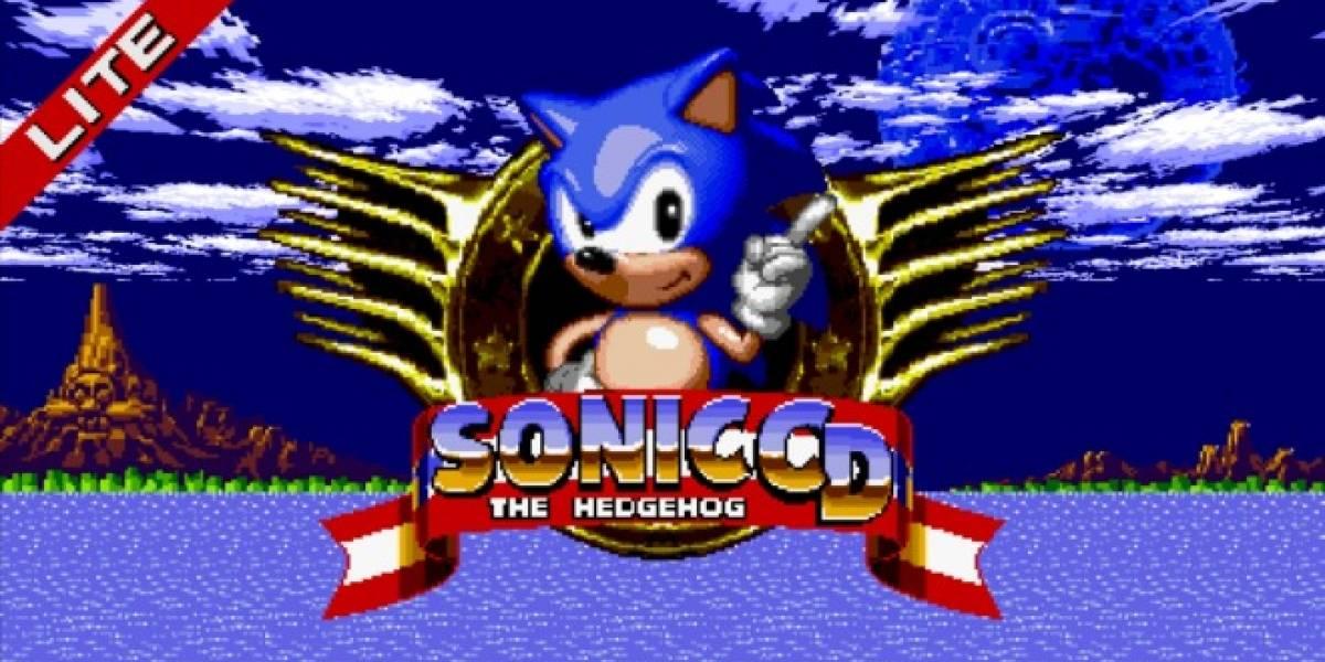 Juega Sonic CD de Sega Mega-CD ahora en tu Android
