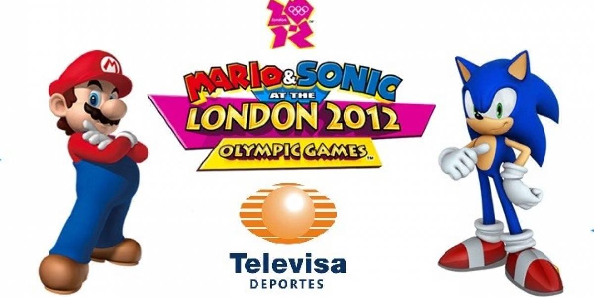 México: SEGA y Televisa Deportes irán juntos en los Juegos Olímpicos de Londres 2012