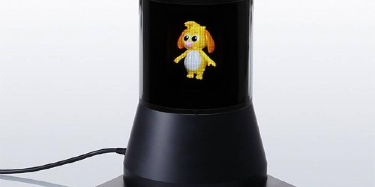 Sony presenta prototipo de pantalla 3D en 360 grados