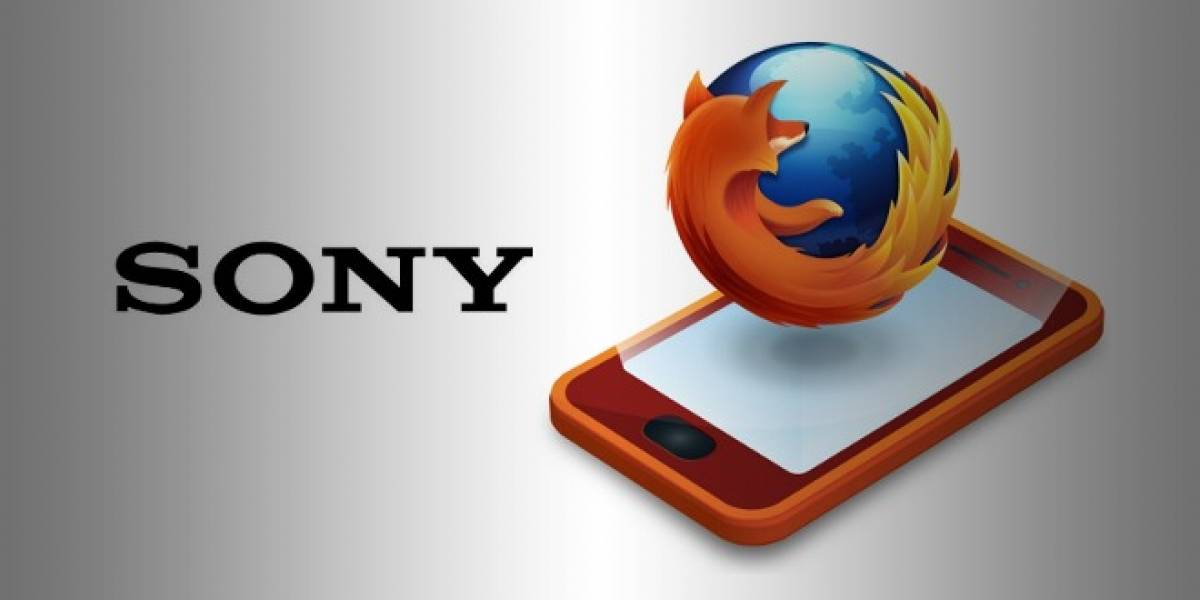 Sony podría estar fabricando un smartphone de gama alta con Firefox OS