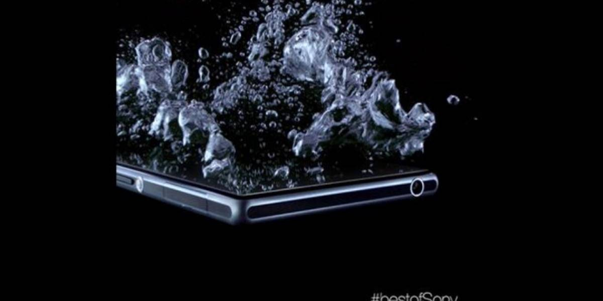 Sony presenta fotografía del Honami mostrando sus capacidades impermeables