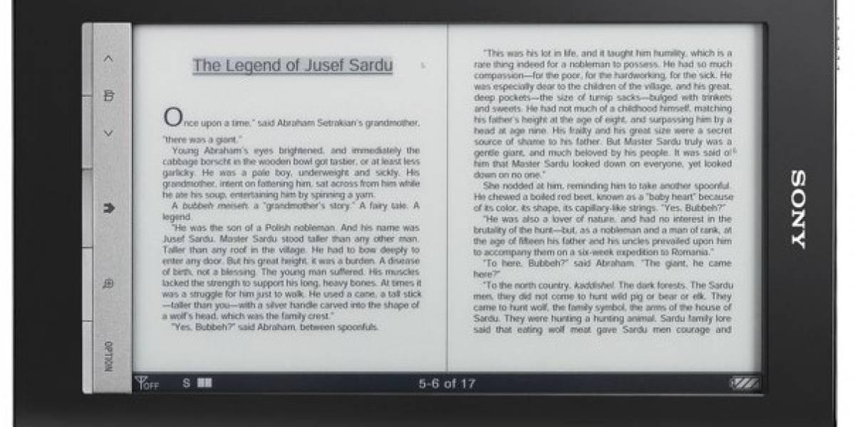 Sony Reader Daily Edition: El verdadero competidor del Kindle