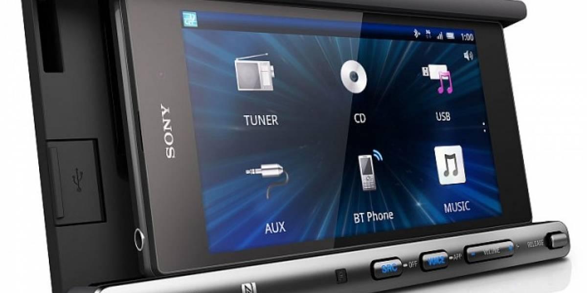 Sony quiere dar un lugar especial en tu auto al smartphone #CES2014