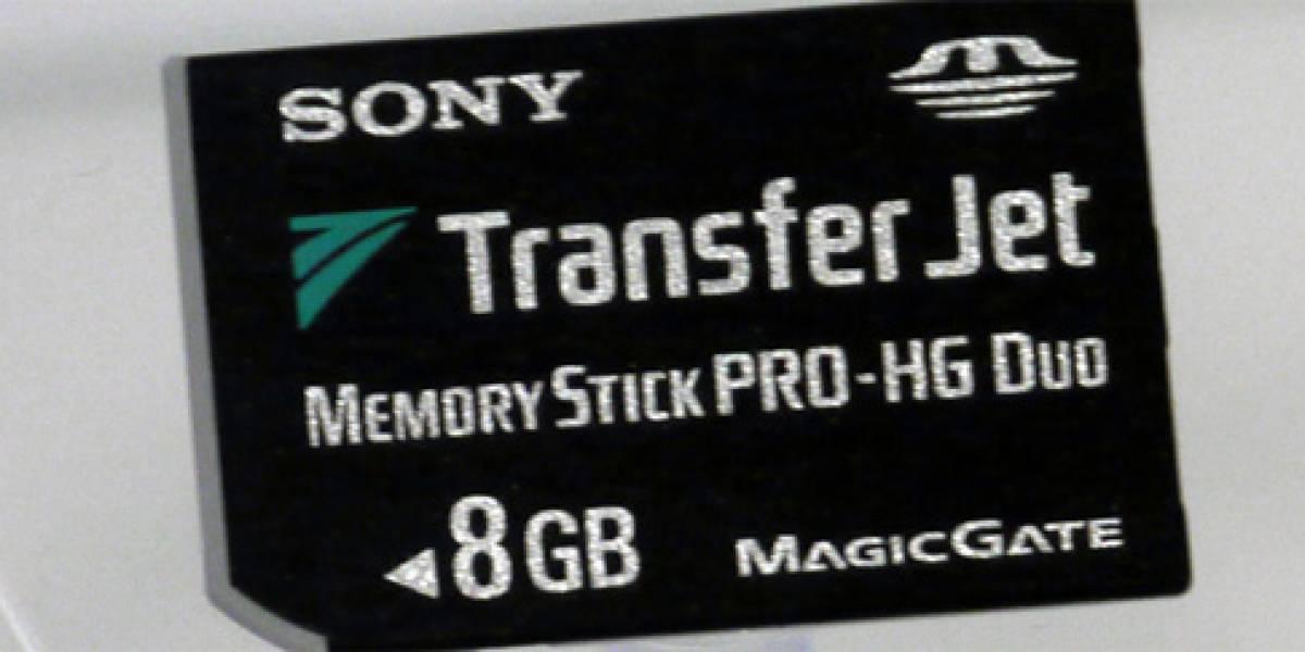 Sony lleva la tecnología TransferJet a sus Memory Stick