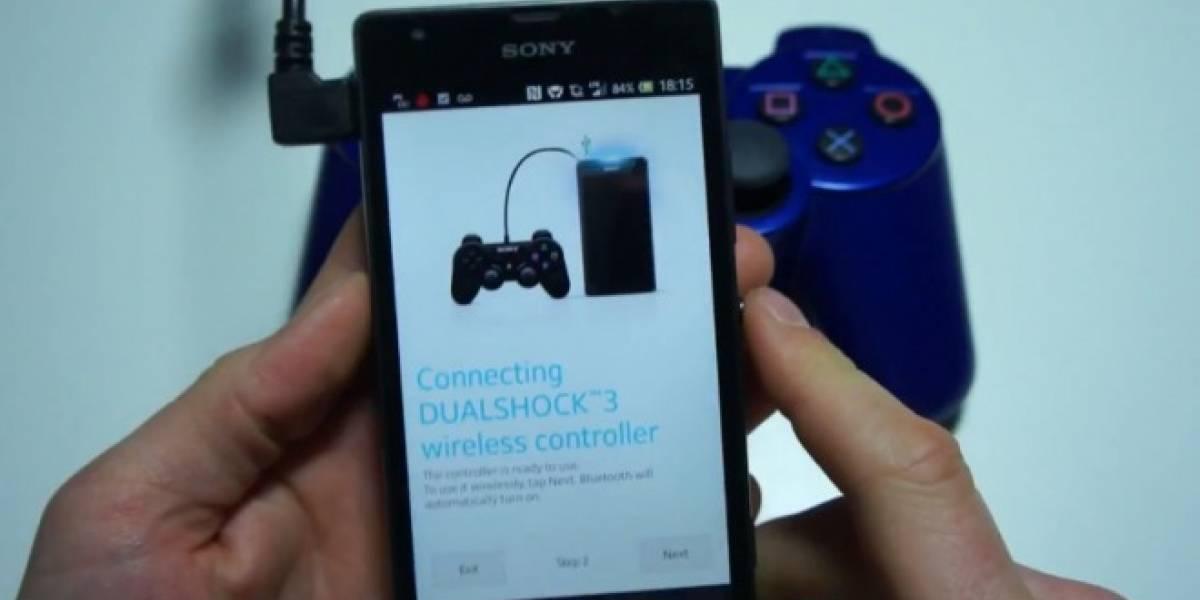 Los Sony Xperia soportarán nativamente controles Dualshock 3