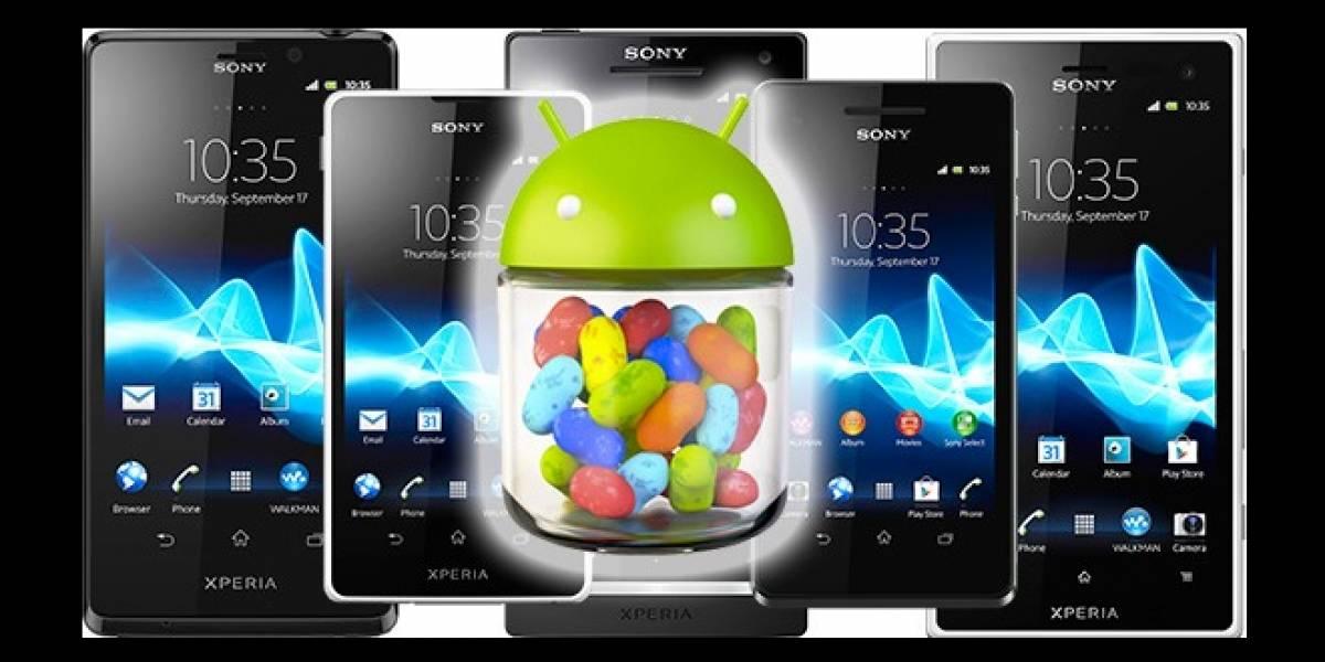 Sony entrega nuevas fechas para actualizar su línea Xperia 2012 a Jelly Bean