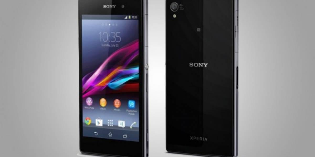 Sony Xperia Z1 se actualiza a la versión 14.2.A.1.136