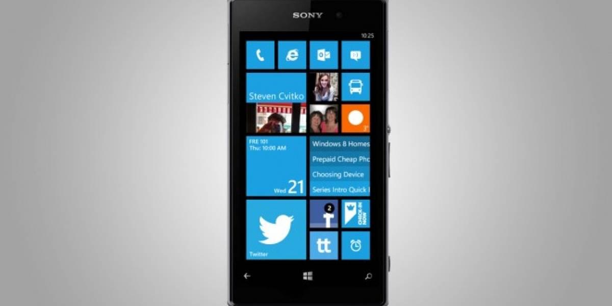 Sony confirma que podría lanzar smartphones con Windows Phone