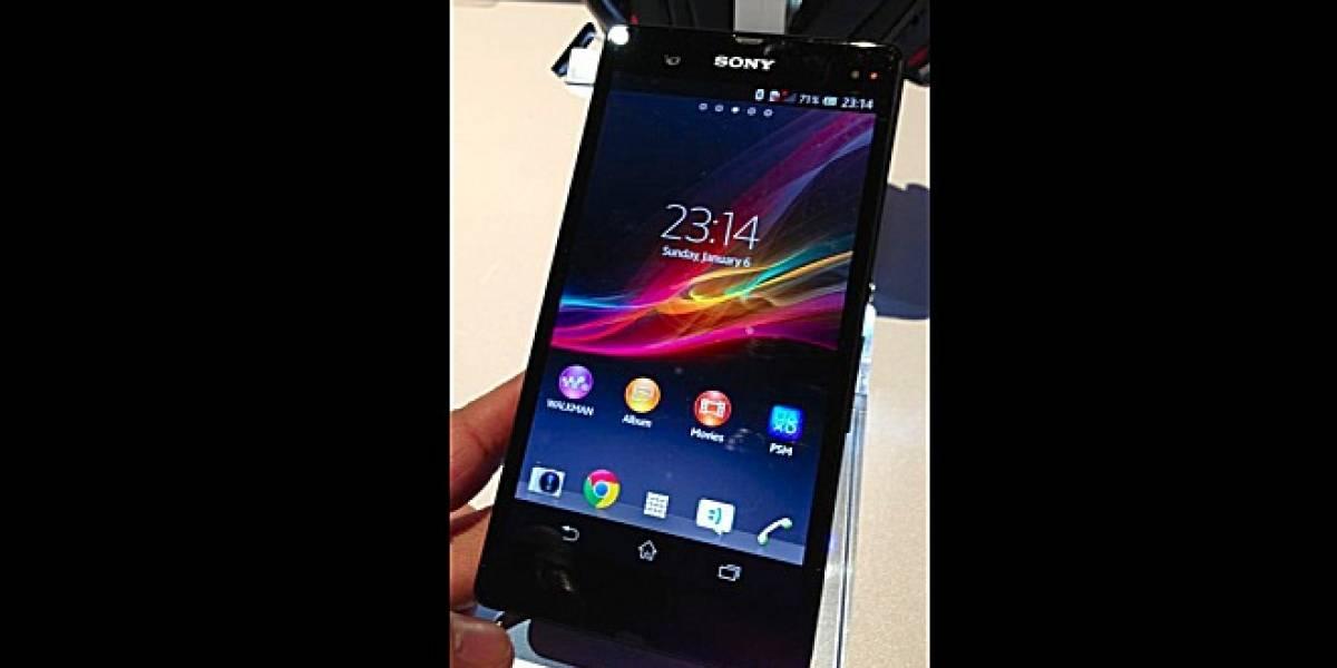 CES 2013: Sony Xperia Z es visto antes de su presentación oficial