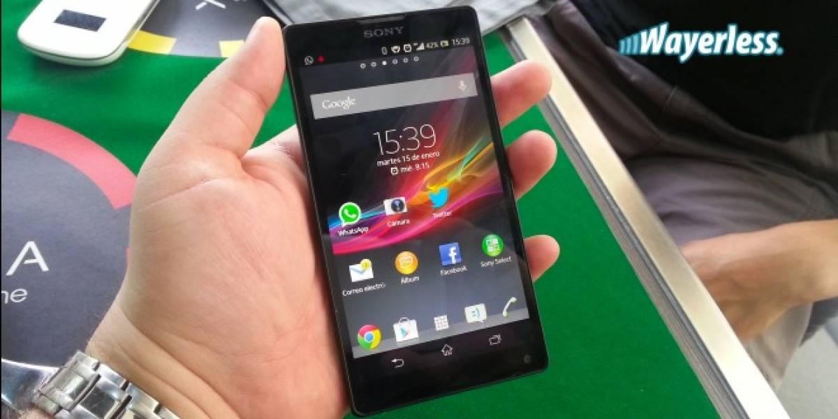 Chile: Movistar anuncia la llegada del Sony Xperia ZL a su catálogo de equipos en marzo
