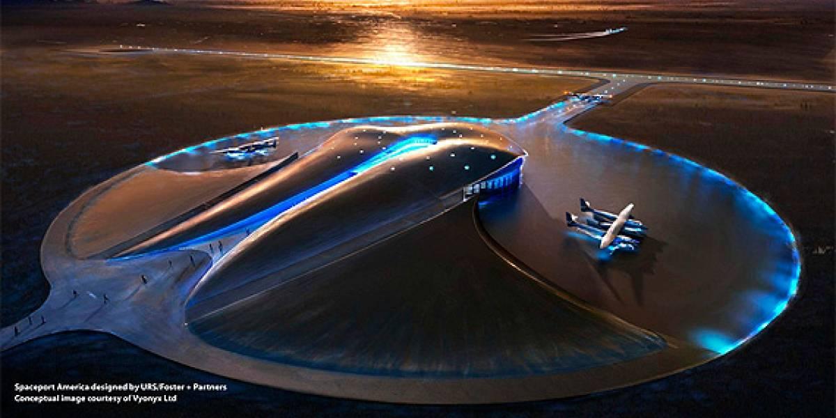 Spaceport America: Inicia la construcción del primer aeropuerto espacial comercial