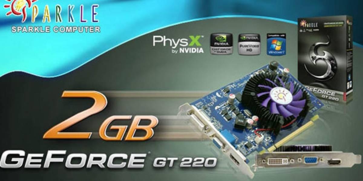 GeForce GT220 con 2GB de memoria