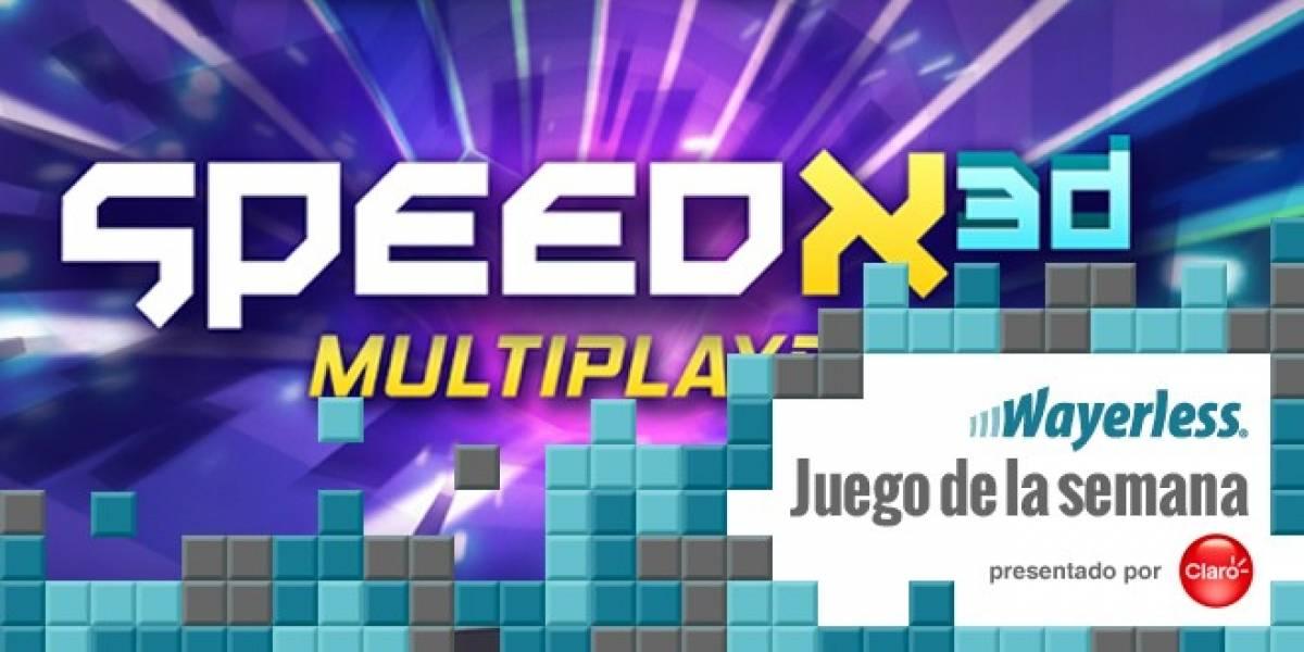 SpeedX 3D [Juego de la Semana]