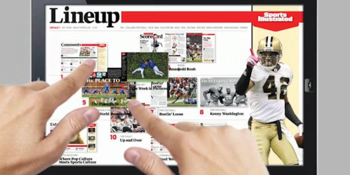 El potencial de las revistas electrónicas a través de Sports Illustrated