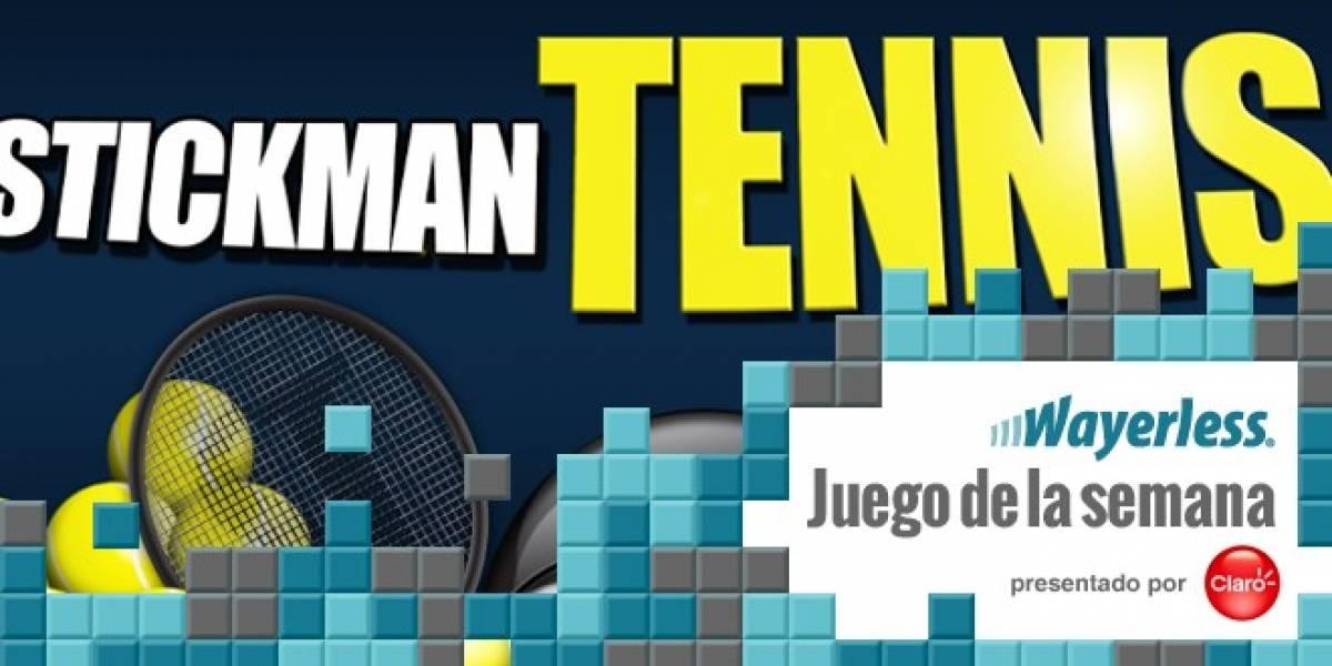 Stickman Tennis [Juego de la Semana]