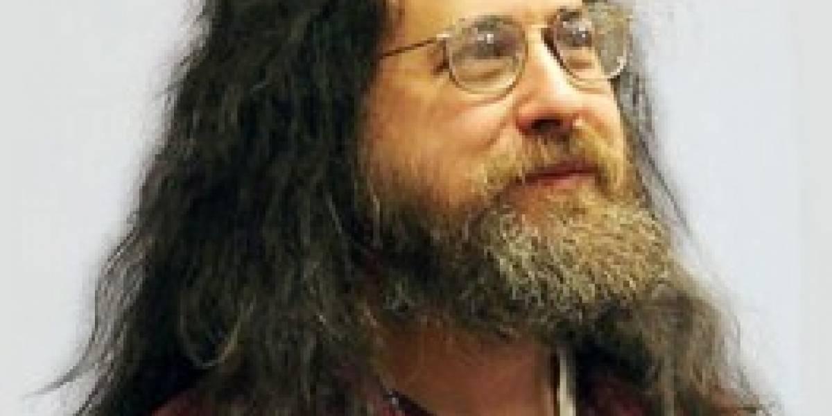 Richard Stallman se presenta otra vez en Santiago