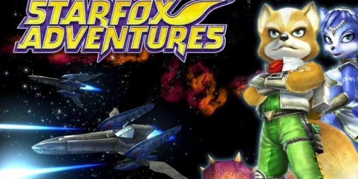 Así se veía Star Fox Adventures en Nintendo 64