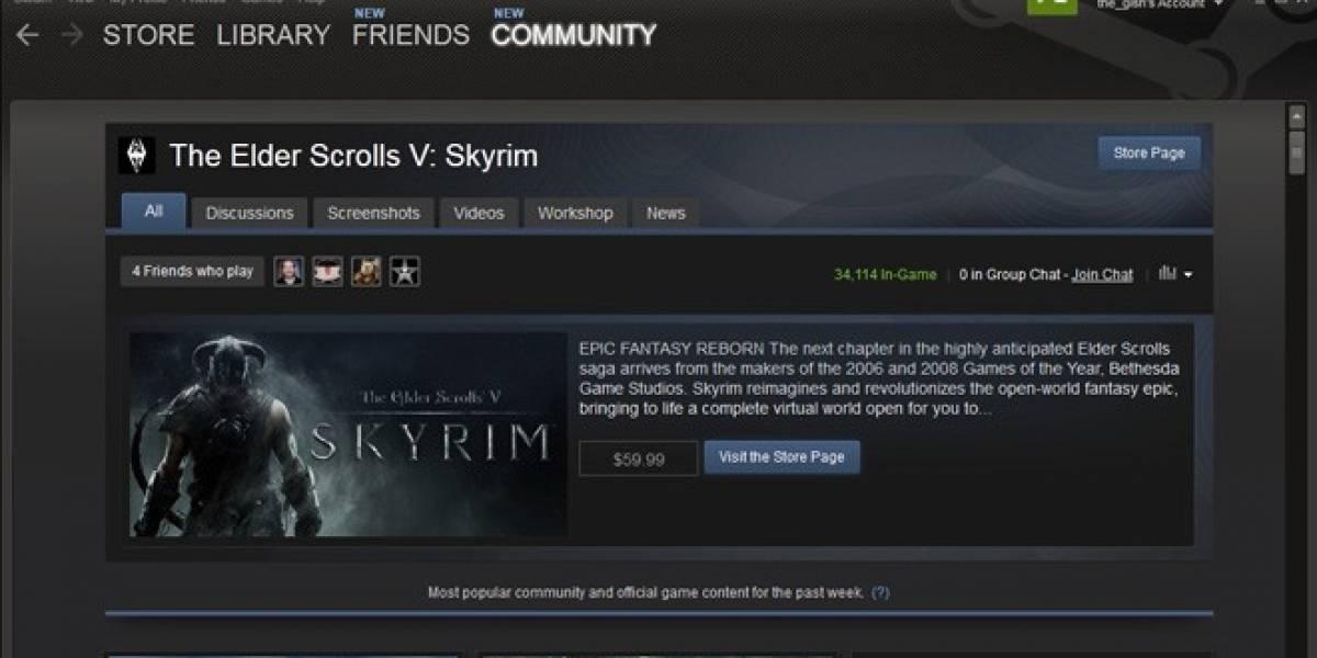 Steam anuncia grandes actualizaciones y mejoras a sus comunidades