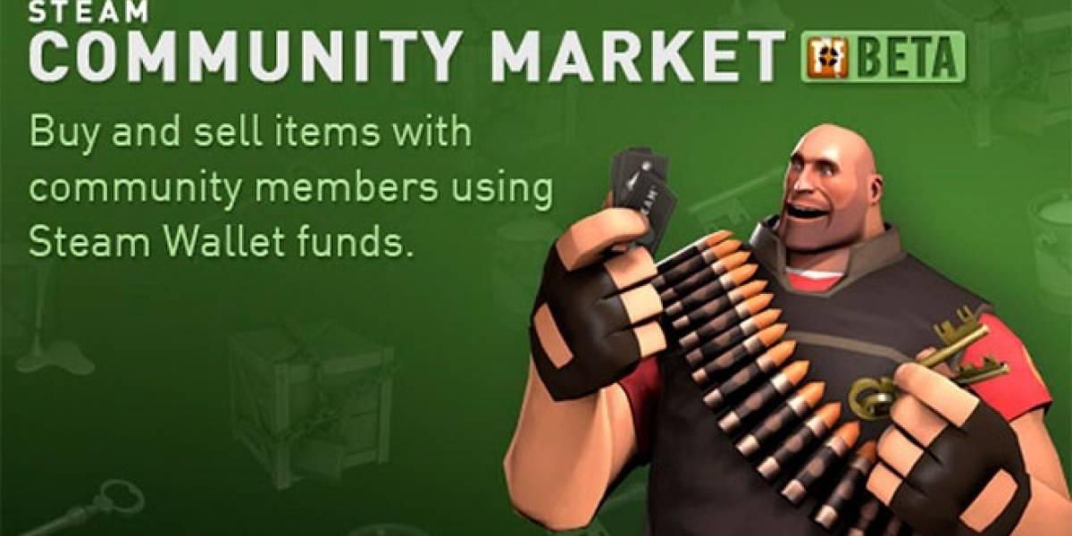 Steam estrena el Mercado de la Comunidad